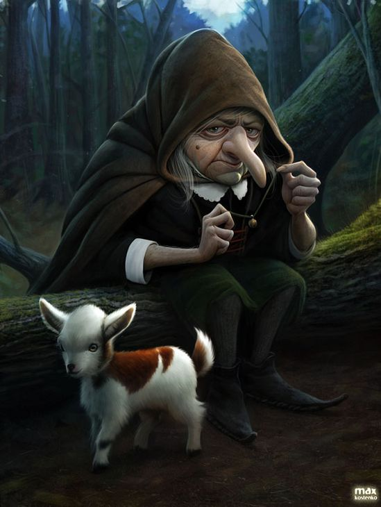23 Beautiful 3D Character Designs and illustrations by Max Kostenko. Follow us www.pinterest.com...