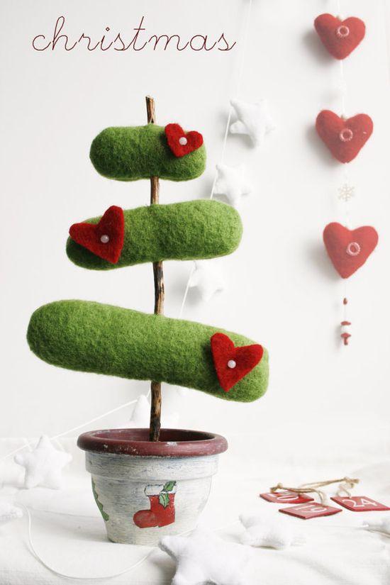 Christmas Tree felt