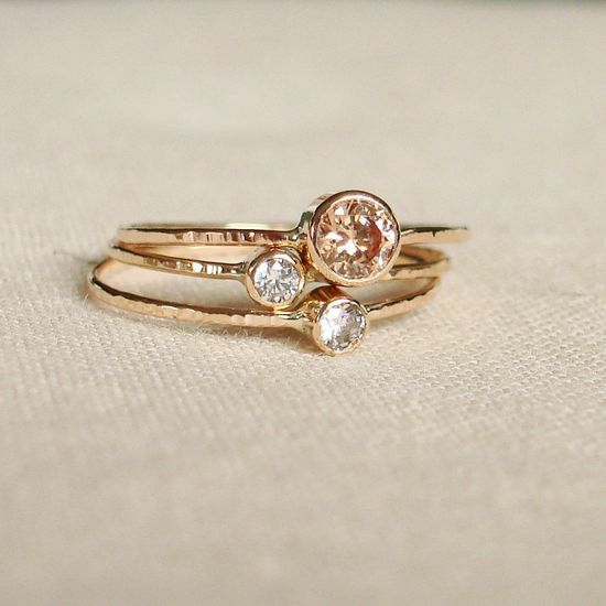 Amazing gold ring ? #wedding #ring #gold #inspiration #details #glam #sparkle