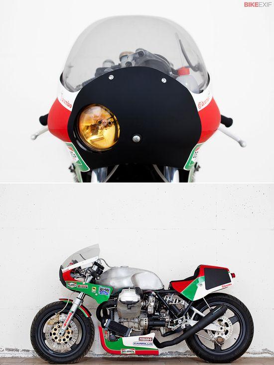 Davide Caforio's Moto Guzzi