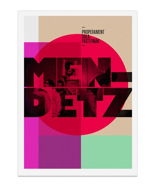 MENDETZ poster by MARIN DSGN