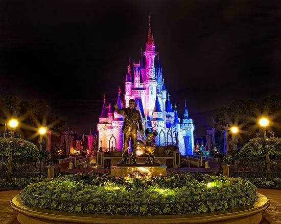 Magic Kingdom - Cinderellas Castle by Matt Pasant, via Flickr