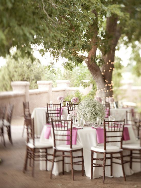 outdoor wedding from bellethemagazine.com