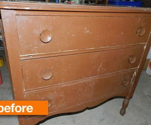 Before & After: Restoring a Discarded Dresser — Crafty in Canada
