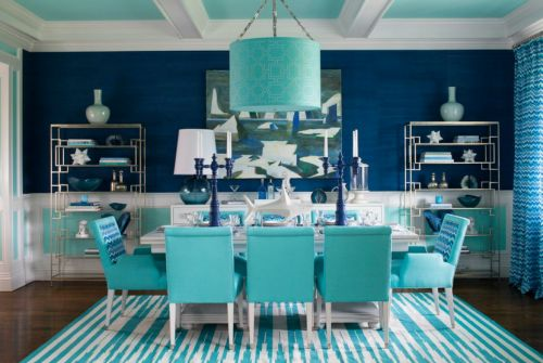 diningroom Designer Mabley Handler Interior Design photo via Simplified Bee