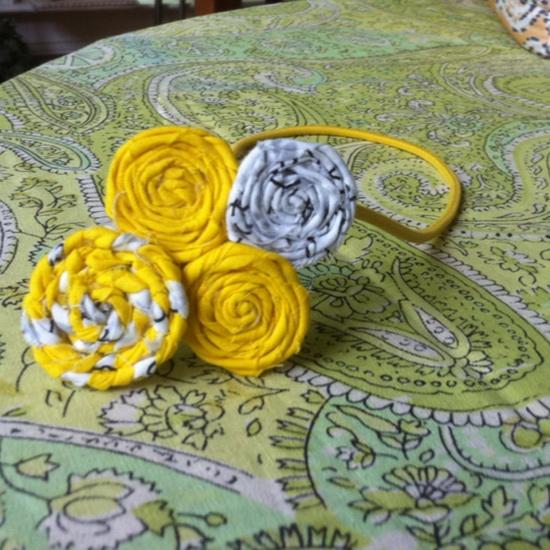 Beautiful handmade headband by Sarah Holcomb