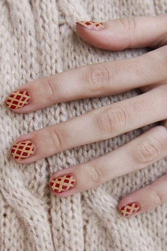 Thanksgiving-Inspired Nail Art