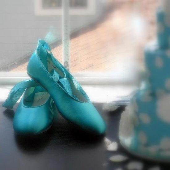 Tiffany Blue Ballerina Flats