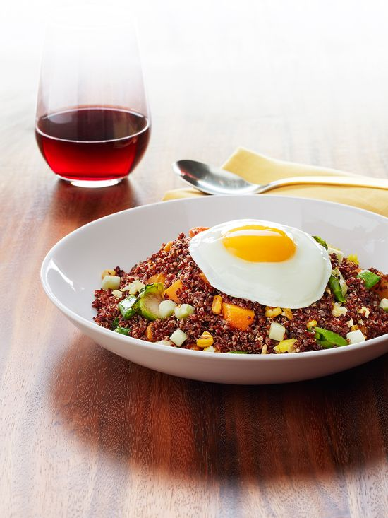 """Harvest Vegetable Quinoa """"Fried Rice"""" / Win a trip to Napa! click the image to find out details!"""