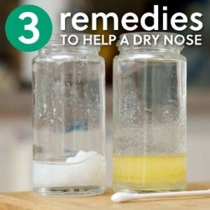 Three Simple Powerful Dry Nose Remedies - Go for Health Tips