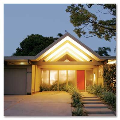 Joseph Eichler: Modernist homes (1950 - 1974). #Architecture #Joseph_Eichler