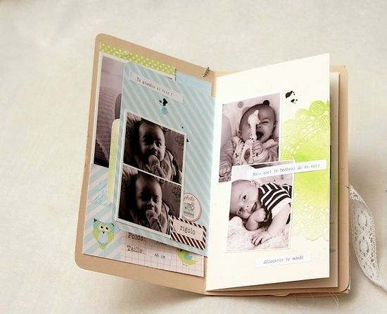 cute and simple mini - Scrapbooking and photography - Amélie MORDRET