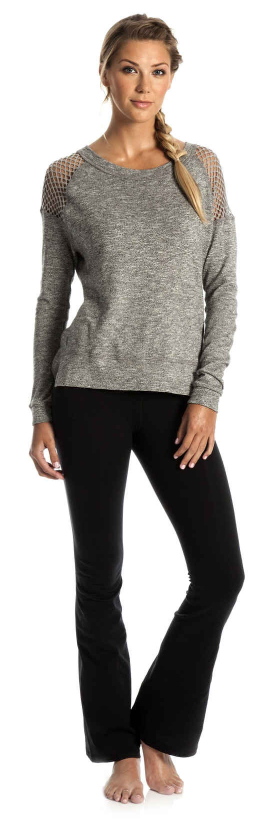 Summer Nights Long Sleeve + Solar Flare Leggings #fashion #fitness