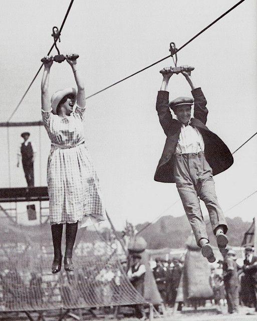 1920s zip line