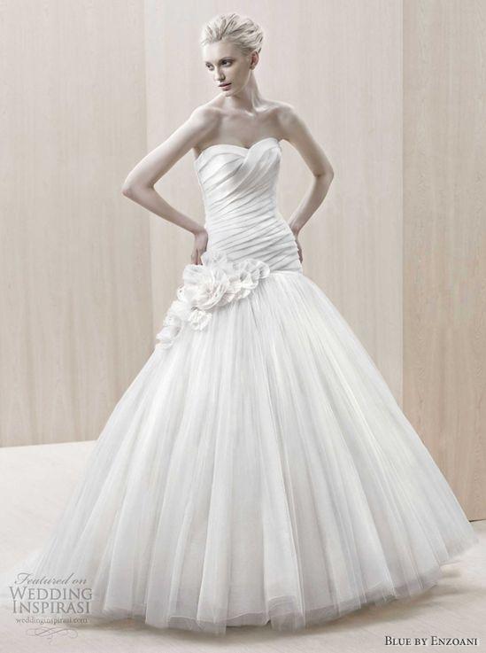 Blue by Enzoani Wedding Dresses 2012