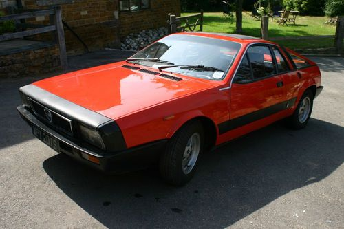 1980s Lancia Montecarlo sports car
