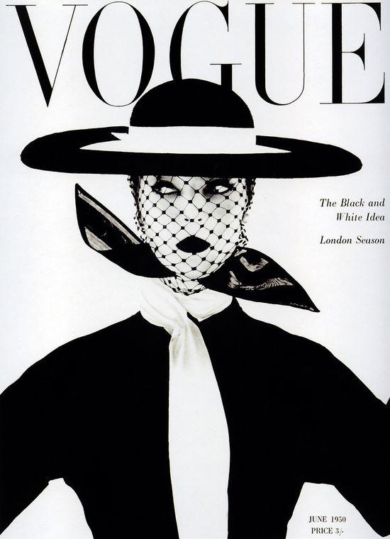 1950 Vogue. V