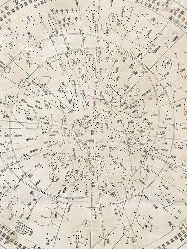 Japanese Star Map