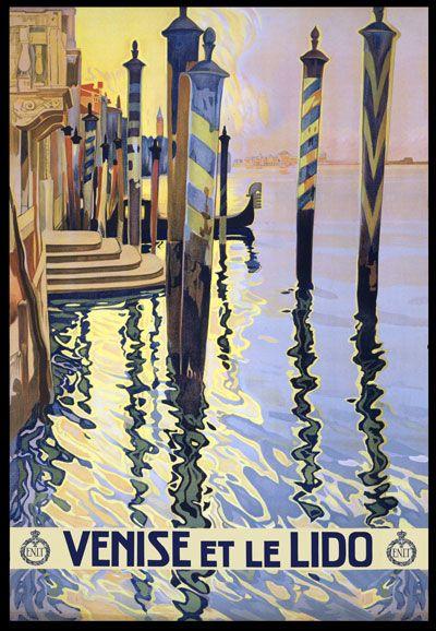 Venice Vintage Travel Poster
