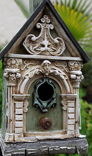 Up Town Birds.  #birdhouse #birds #garden