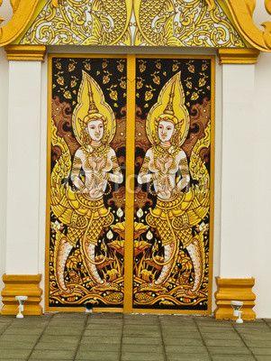 thai painting art .