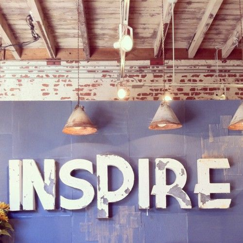 INSPIRE -- awesome for a downtown loft apartment