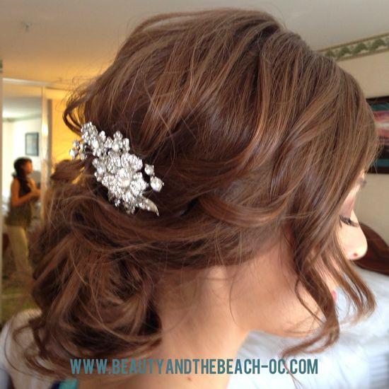 Updo, wedding hair, hair accessories