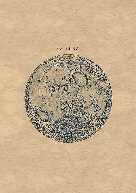Full Moon La Luna