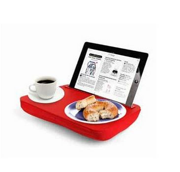 Breakfast in bed for the #iPad lover. We need this!