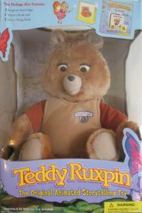 Teddy Ruxpin. Gotta admit he was a little creepy lol
