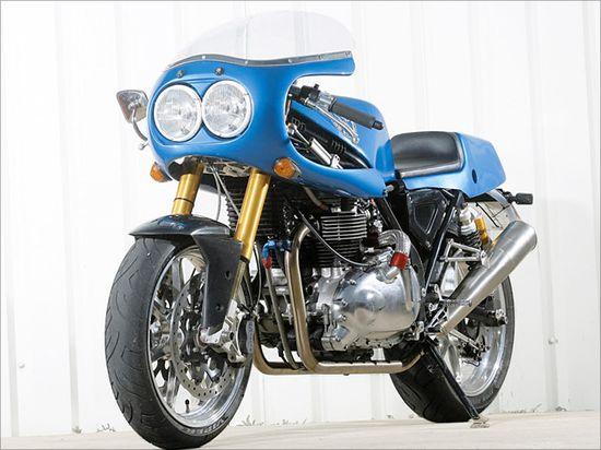 Hyde Harrier - Pipeburn - Purveyors of Classic Motorcycles, Cafe Racers & Custom motorbikes