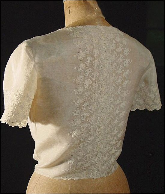 Vintage Pina Embroidered Blouse *Hand Made
