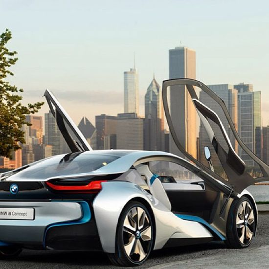 Who says electric cars are ugly!!! The beautiful BMW work of art!- The i8!