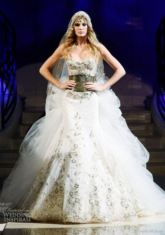 zuhair murad wedding dress 2011