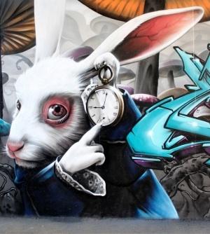 Street art by Shar4Hoos