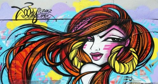 Too Fly Graffiti Art