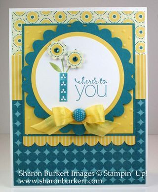 Stampin' Up! SU by Sharon Burkert, As The Ink Dries
