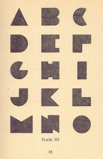 Modern Lettering.
