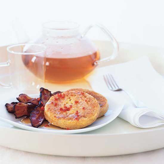 Crumpets with Bacon // Great Comfort Food Recipes: www.foodandwine.c... #foodandwine