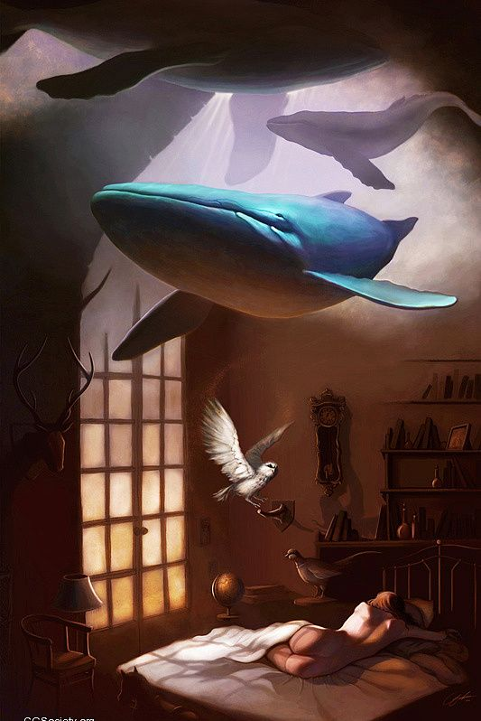 Conceptual Illustrations by Gabriella Liv Eriksson