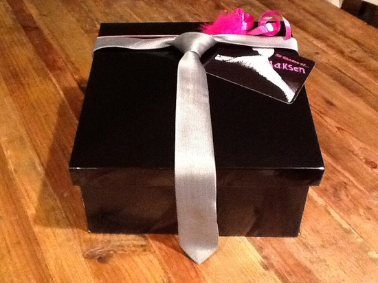 50 Shades of Grey Gift Box - Mini (Bachelorette Party Gift). $118.00, via Etsy.