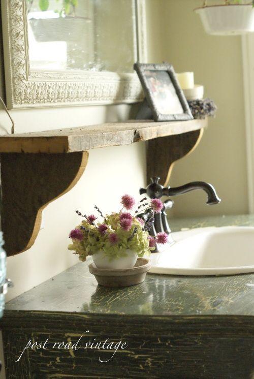 great bathroom details
