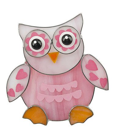 Brighten up any room with this Pink Heart Owl Night-Light by GANZ on #zulily!