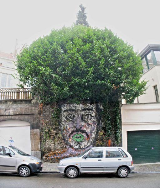 creative street art..
