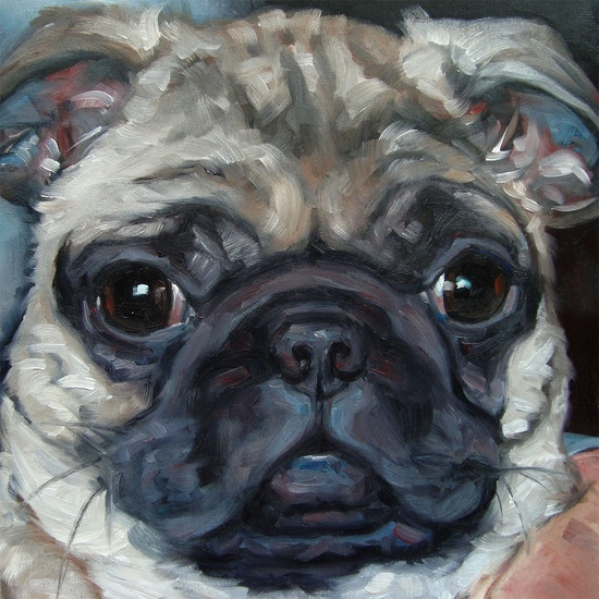 Need to commission a custom pet portrait!