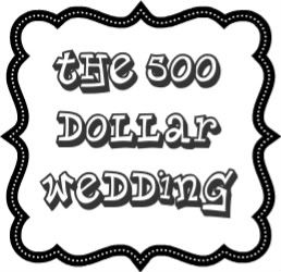 Wedding on a budget, great tips!