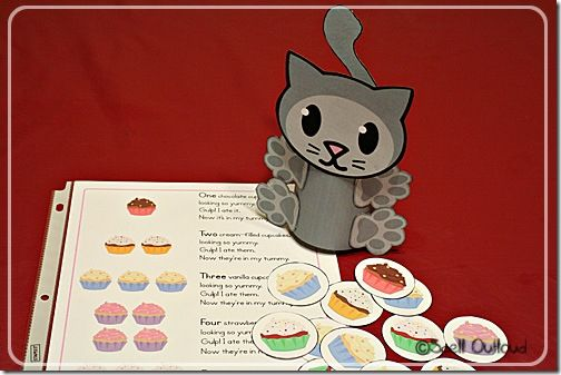 If you give a cat a cupcake lesson ideas