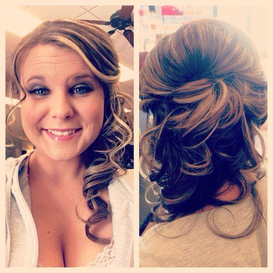 My Bridesmaid hair style