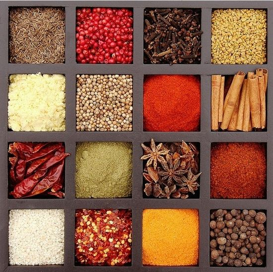 SPICE THINGS UP - Nice Kitchen Decor.  With a glass top use as wall hanging or a trivet.