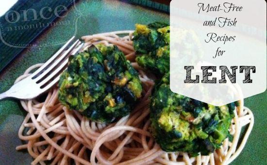 Recipes for Lent #freezer